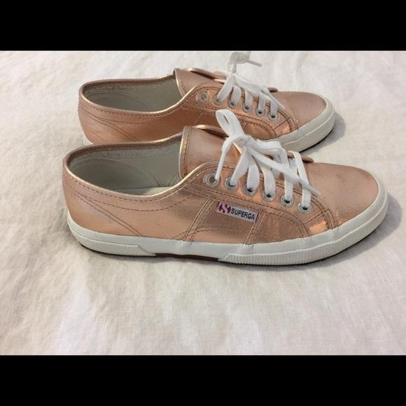 0315489b16d Superga Cotmetu Rose Gold Sneakers - Size US 8.5. M 5a88eb725512fd5de2a0829c
